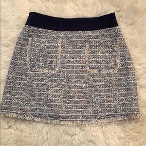 Adorable tweed mini skirt from J Crew NWOT